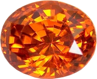 Hessonite Gemstone